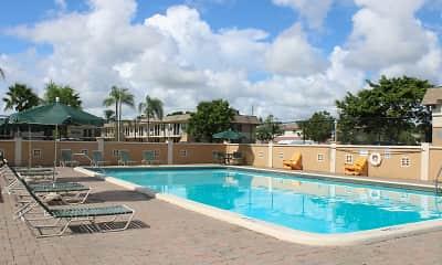 Pool, Pompano Palms, 1