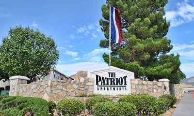 Community Signage, The Patriot, 0