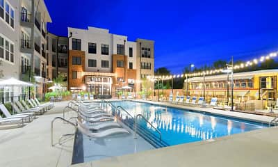 Pool, Bluebird Row, 1
