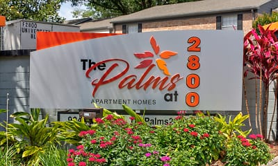 Community Signage, The Palms at 2800, 2