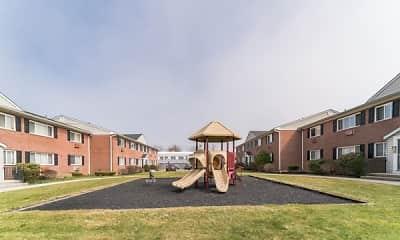 Building, Mid Island Apartments, 2
