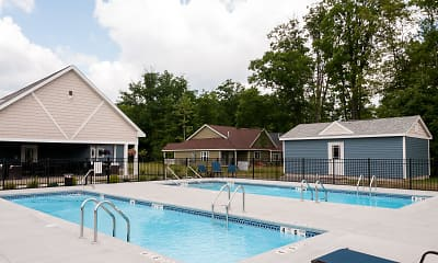 Pool, The Spinney At Van Dyke Senior Apartments, 2