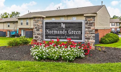 Community Signage, Normandy Green Apartments & Townhouses, 2