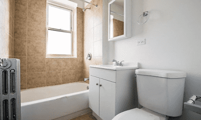 Bathroom, 418 S Laramie, 1