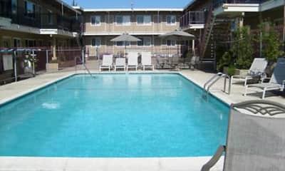 Pool, Shangri-La Apartments, 1