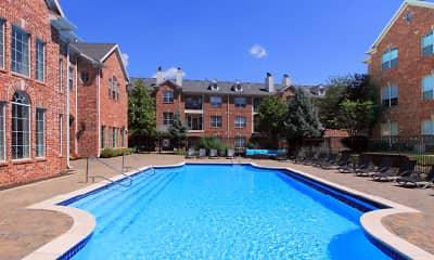 Pool, Turtlecreek Apartments, 1