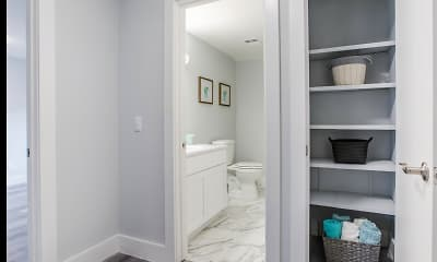 Bathroom, Sycamore Townhomes, 2