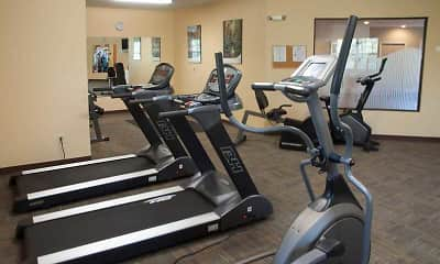 Fitness Weight Room, Partridge Hill Apartments, 2