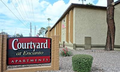 Community Signage, Courtyard At Encanto, 2