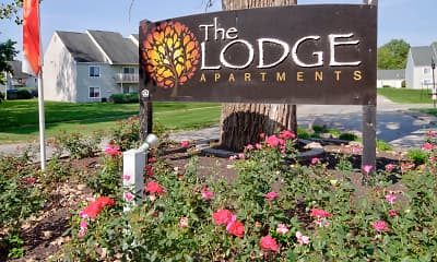 Community Signage, The Lodge Apartments, 2