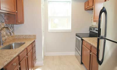 Kitchen, Waldorf Park Apartments, 0