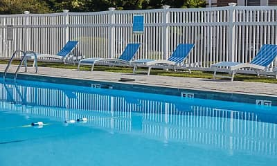 Pool, Colonial Village Apartments, 2