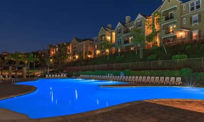 Pool, Prominence Apartments, 2