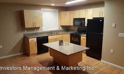 Kitchen, Mandan Place Apartments, 0