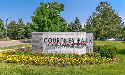 Community Signage, Courtney Park, 2