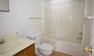 Bathroom, Huntington Place, 2