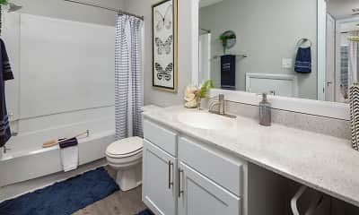 Bathroom, ARIUM Lake Johnson, 2