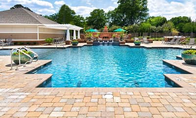 Pool, Park Towne Apartments, 0