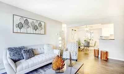 Living Room, Caden Apartments, 0