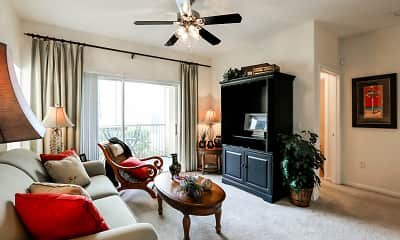 Living Room, The Lakes At Collier Commons, 1