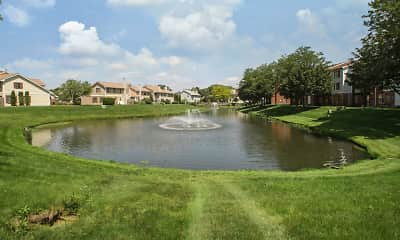 Lake, Orchard Lakes, 1