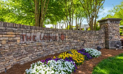 Community Signage, Lodge at Southpoint Apartments, 2