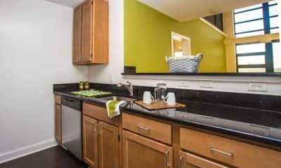 Kitchen, 3Tree Flats, 1