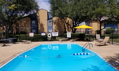 Pool, Windsor Village Apartments, 1