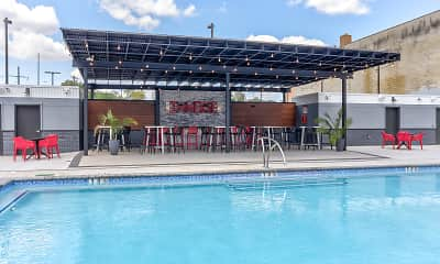 Pool, The Hub at 31 Brewerytown, 0