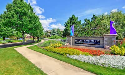 Community Signage, Glenmuir of Naperville, 2