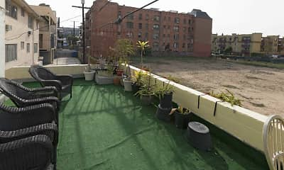 Patio / Deck, Serrano Towers, 2