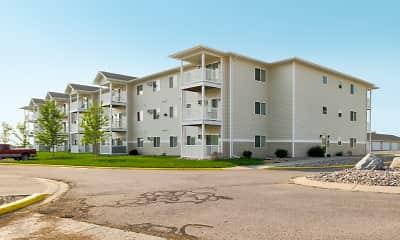 Building, Northern Plains Apartments, 1
