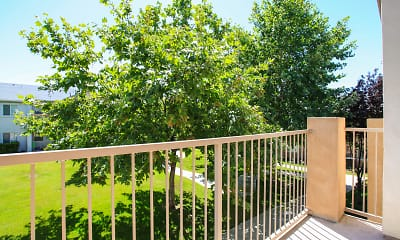 Patio / Deck, Belcourt Apartments, 2