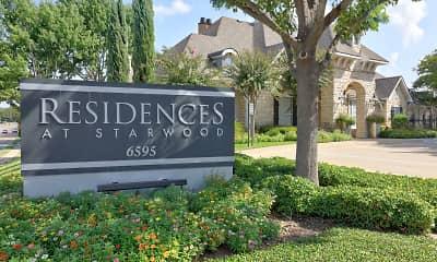 Community Signage, The Residences at Starwood, 2