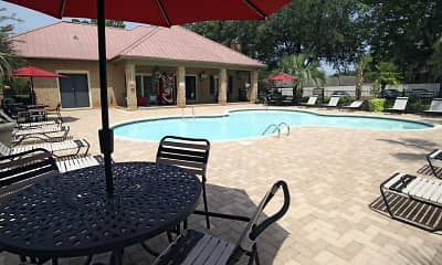 Pool, Cimarron Ridge Apartments, 0