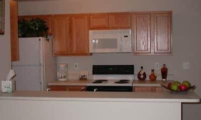 Kitchen, Whitmore Lake Apartments, 1