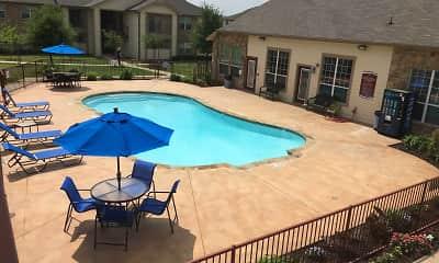 Pool, Lakeside Apartments, 1