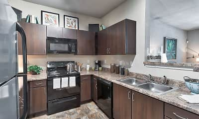 Kitchen, Spring Creek Apartment Homes, 0