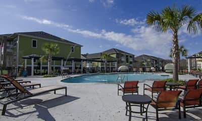 Pool, Cypress River Apartments, 2