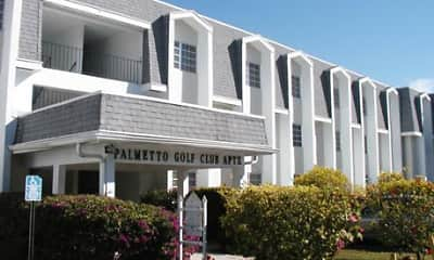 Building, Palmetto Golf Club Apartments, 0