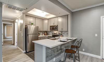 Kitchen, Golden Oaks Apartments, 0