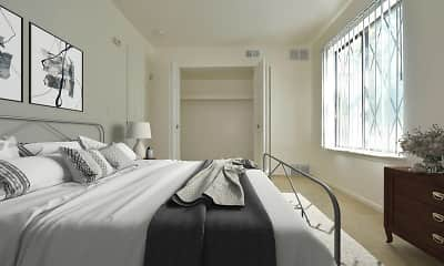 Bedroom, Woodland Place Apartments, 1