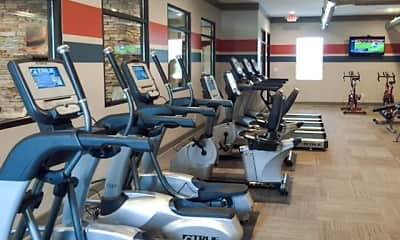 Fitness Weight Room, The Vue Lexington, 2