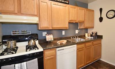 Kitchen, Henson Creek Apartment Homes, 1