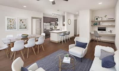 Living Room, Camden Flatirons, 1
