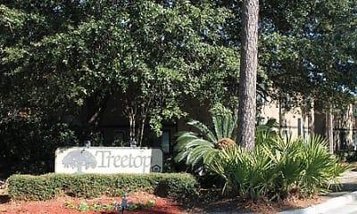 Community Signage, Treetop Apartments, 1