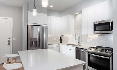 Kitchen, Avalon Residences at The Hingham Shipyard, 1