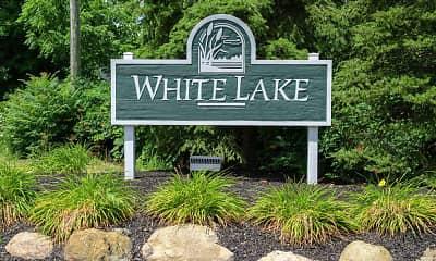 Community Signage, White Lake MHC, 2