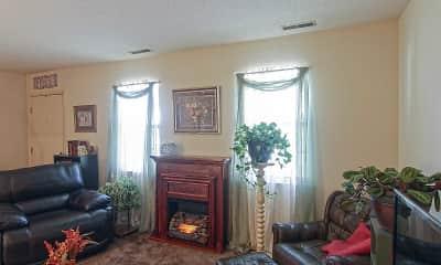 Living Room, Tiffany Lane Duplexes, 1