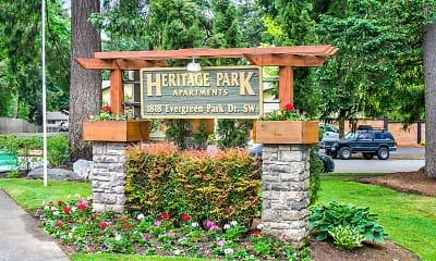 Community Signage, Heritage Park, 0